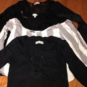 Tops - Lot of 4 Long Sleeve Tops